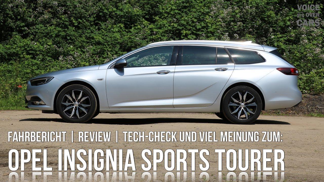 2017 opel insignia sports tourer fahrbericht meinung kritik tech check voice over cars. Black Bedroom Furniture Sets. Home Design Ideas