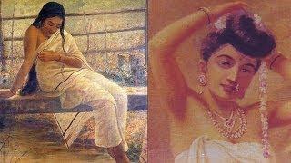 Most Beautiful Women Paintings by Raja Ravi Varma