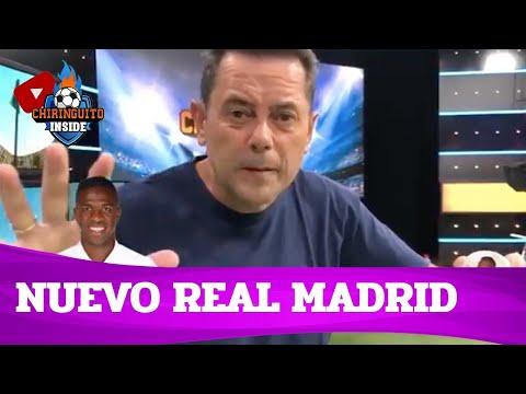 ⚪⚪ El NUEVO REAL MADRID 20/21 de TOMÁS RONCERO | Chiringuito Inside