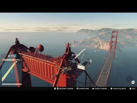 Watch Dogs 2: CLIMBING THE GOLDEN GATE BRIDGE!