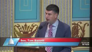 Sen. Barrett speaks on resolution commemorating Juneteenth