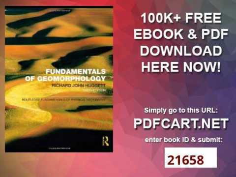 Pdf geomorphology fundamentals of