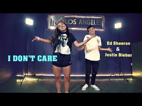 Tati McQuay & Sage Rosen - I DON'T CARE - Justin Bieber & Ed Sheeran | Matt Steffanina Choreography thumbnail