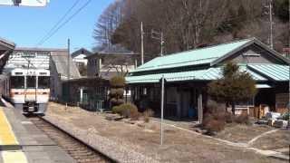 中央本線川岸駅  ローカル線の小さな旅