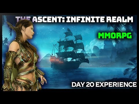 ㊙️Ascent: Infinite Realm – 44+ Orc ElementalSin – Steampunk MMORPG [SEA Version] Day 20 Experience
