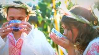 Свадьба в славянском стиле.