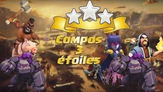 Clash of clans / Compos 3 étoiles gdc / Gdc presque parfaite !