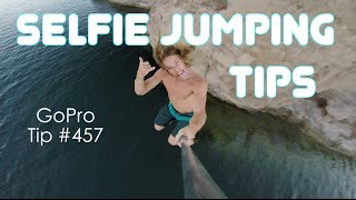 How To Do A Good JUMPING SELFIE Video - GoPro Tip #457   MicBergsma