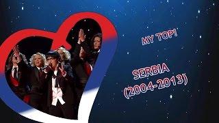 Eurovision SERBIA: 2004-2013 (My Top)