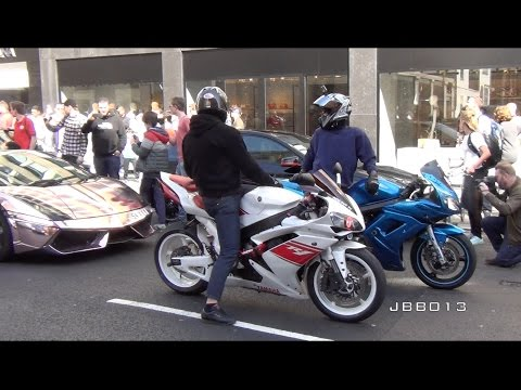 Thumbnail: Superbikes and Supercars Go Crazy in the City!!
