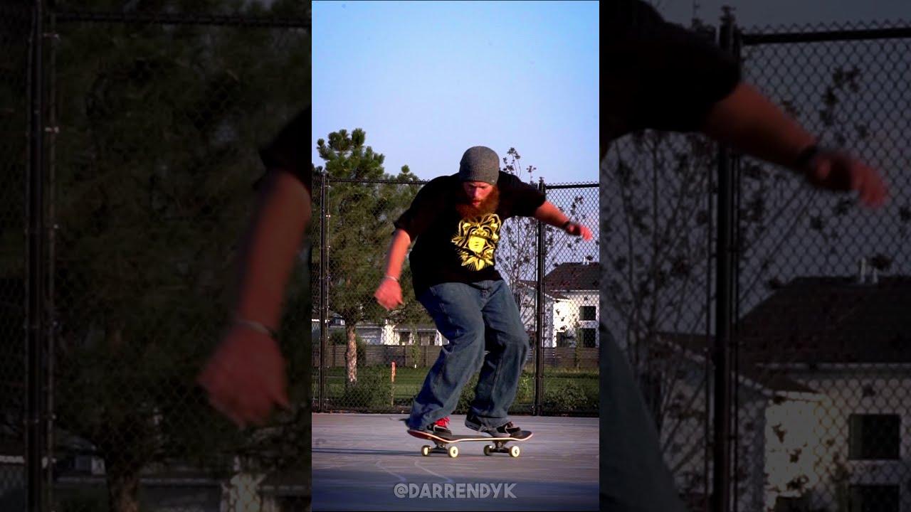 Download NOLLIE GAZELLE BIGSPIN - Darren Dyk #shorts #skateboarding