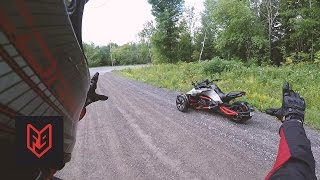 Can-Am Spyder F3-S First Ride & Impressions