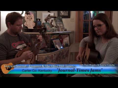 "Journal-Times Jams #2 Sasha Colette and Don Rigsby, ""Ain't No Grave"""