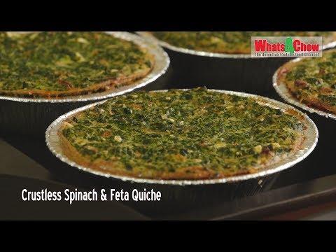 Crustless Spinach & Feta Quiche
