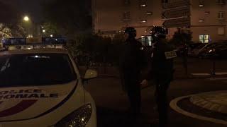 Dégâts après des violences urbaines après la mort d'une jeune  (6 Mai 2017, Massy, France)