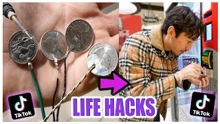 We TESTED Viral TikTok Life Hacks.... (LIFE CHANGING) *PART 7*