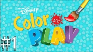Disney Color and Play Gameplay FREE APP (IOS/Android) By Disney