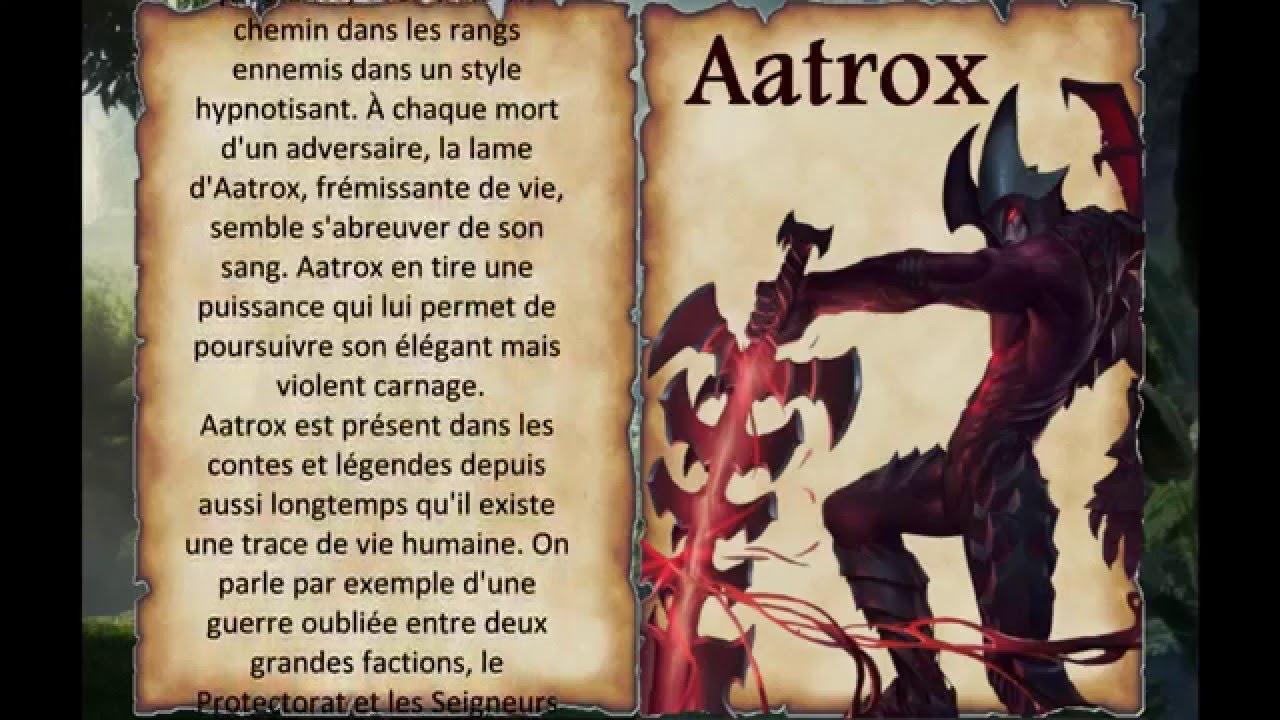 League Of Lore - Aatrox, Épée des Darkin. #1 FR