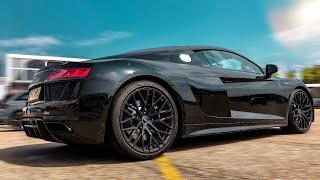 9000 RPM AUDI R8 RWS V10 SOUNDS & HARD DRIVE *ACCELERATIONS*