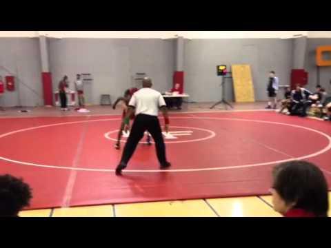 Jordan Norwood Wrestling - 1-11-13 (part 2)