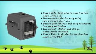 Dog Carriers-petmate Sky Kennel For Pets  Review