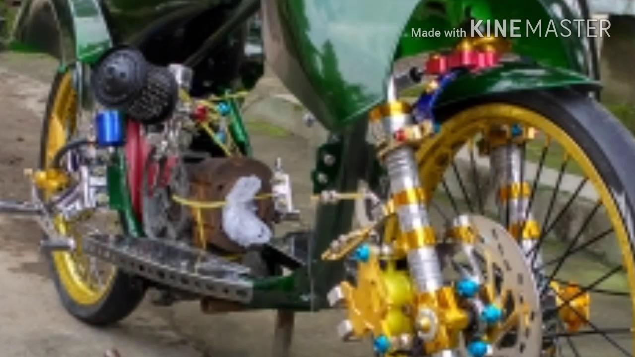 Vespa Racing Mesin Oplosan Scoopy Street Youtube
