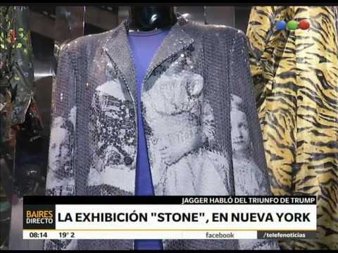Exhibición de los Stones en Nueva York – Telefe Noticias