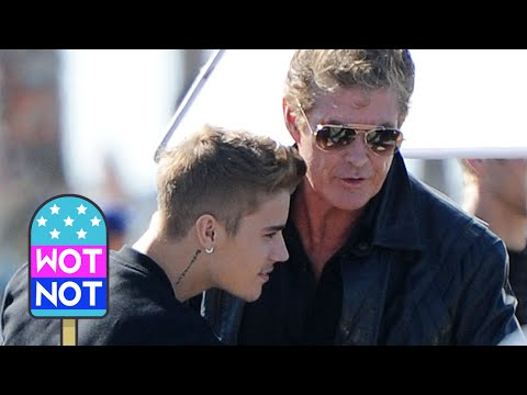Justin Bieber Is Killing Hasselhoff! Bieber Plays KITT From Knight Rider In New Movie!