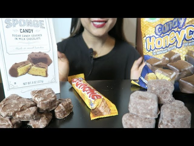 Asmr Eating Chocolate Honeycomb No Talking Highly Requested