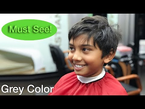Best Haircut Transformation for boys | Hair Color Wax | Top Hairstyle for men 2018  Eps.35