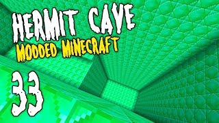 Hermit Cave: 33 | Emerald EMC DREAM! | Modded Minecraft