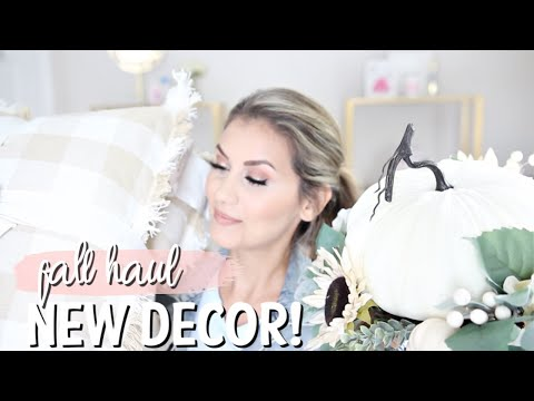 FALL HOME DECOR HAUL | HOMEGOODS + BURLINGTON