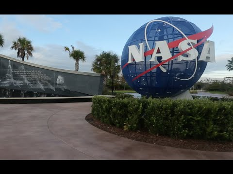 NASA Kennedy Space Center - Cape Canaveral - Space shuttle Atlantis - Forever Remembered