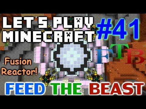 Let's Play Minecraft Hermitcraft FTB Ep. 41 - New Fusion Reactor!