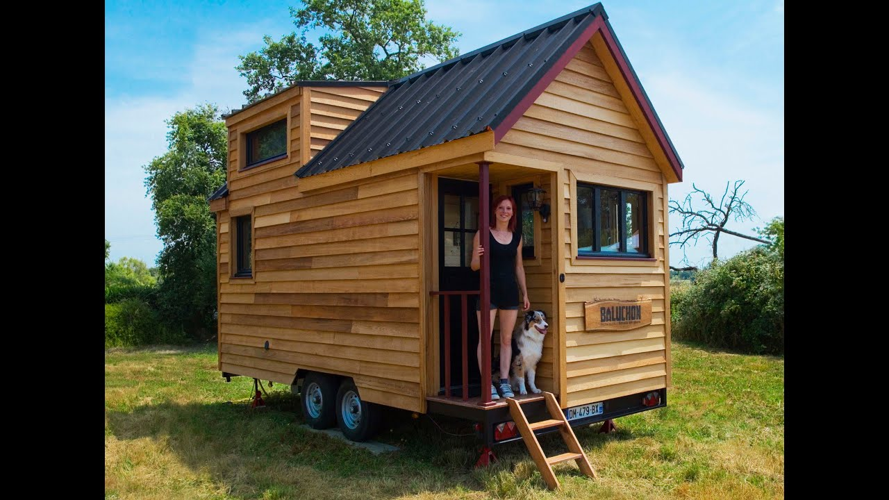 la tiny house baluchon pr sentation youtube. Black Bedroom Furniture Sets. Home Design Ideas