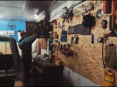 Мой гараж-мастерская. ОБЗОР