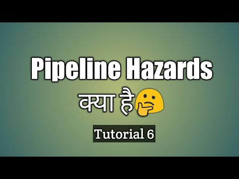 Pipeline Hazards | HINDI ! हिन्दी