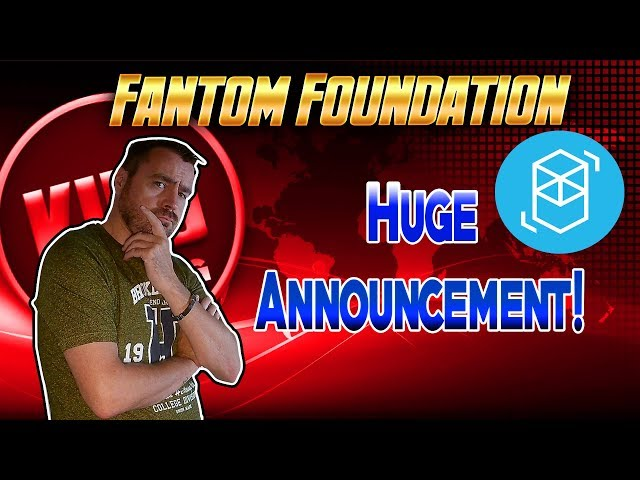 Fantom Foundation 🚀 Huge Dubai Partnership Announcement!