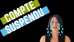 Mon COMPTE AMAZON a été SUSPENDU! HELP!!