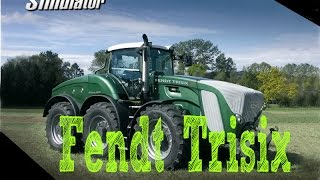 FS 13 ☆ Biggest tractor in game ☆ Fendt Trisix Vario
