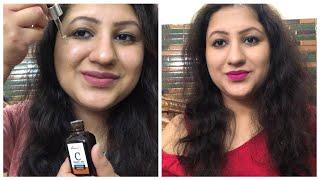 Vitamin C serum कब कैसे और कितना इस्तेमाल करें StBotanica vitamin c serum लगाने का सही तरीका क्या है