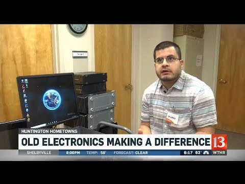 Huntington Hometowns: Recycling Electronics For Good Cause