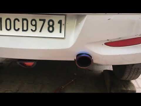 Hyundai i10 free flow exhaust modified