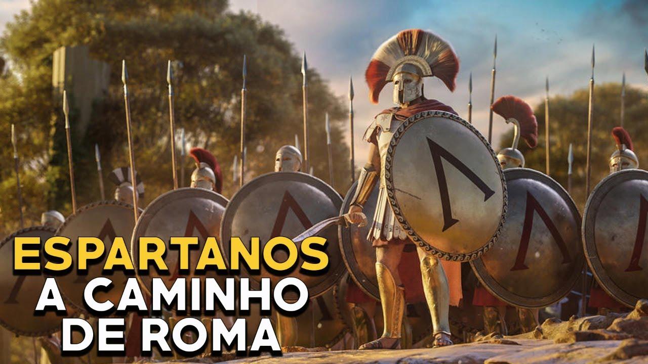 Esparta e a Conqusita de Roma - LIVE - Rome Total War II - Foca na História
