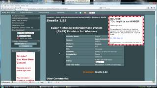 What to expect, when using EMUPARADISE.ME, to get EMULATORS & ROMS (Walkthrough)
