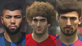 Новые лица после обновления DLC 3.0 для PES 2017
