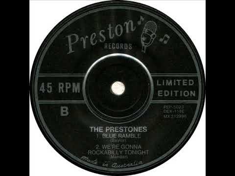nuovo concetto cd58b 3a3ba The Prestones - We're Gonna Rockabilly Tonight