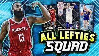 NBA 2K18 ALL LEFT HANDED PLAYERS SQUAD!! Ft. PD HARDEN & SIMMONS!! | NBA 2K18 MyTEAM SQUAD BUILDER