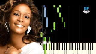 Whitney Houston - The Greatest Love Of All - Synthesia Piano Tutorial
