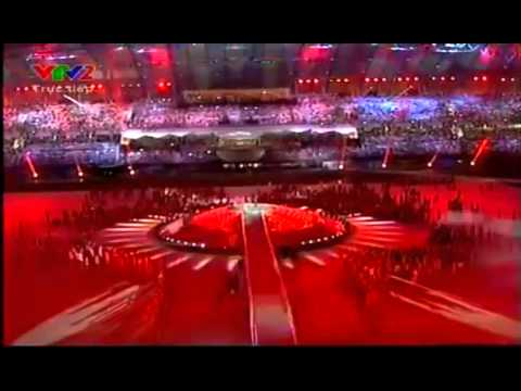 26th Sea Games 2011 | Closing Ceremony | Ello & Sherina - Ayo Indonesia Bisa (Theme Song #3)